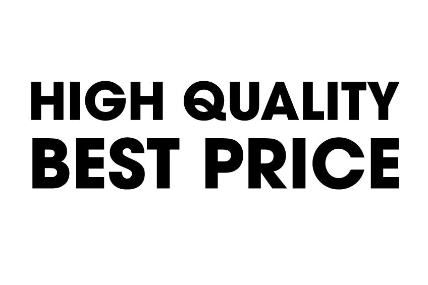 上質な物を最適な価格で提供