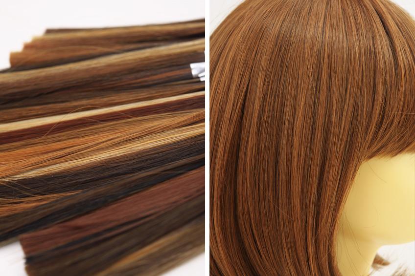 髪の毛の素材(ファイバー)に気を付ける