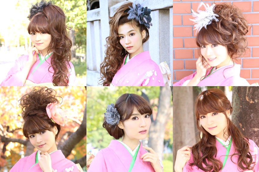 成人式にぴったり!かつらを使った6つのヘアスタイル