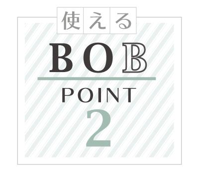 使えるBOB POINT2