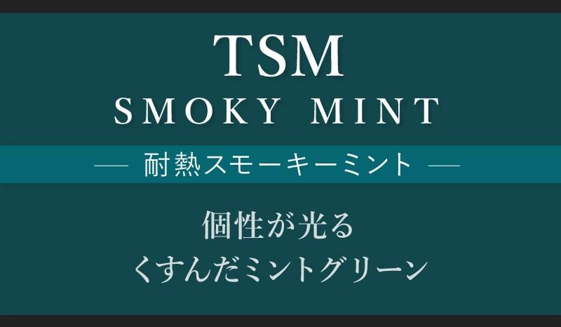 TSM/耐熱スモーキーミント 個性が光るくすんだミントグリーン